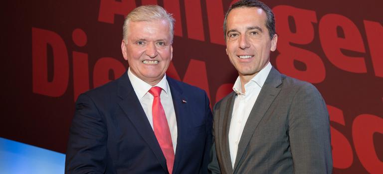 Landesparteitag: Franz Schnabl mit 98,8 % zum Vorsitzenden der SPÖ Niederösterreich gewählt