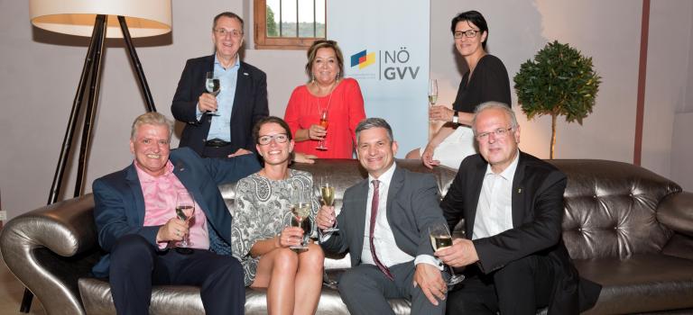 """Wahlkampfstimmung beim NÖ GVV """"Sommerabend in Rot"""""""