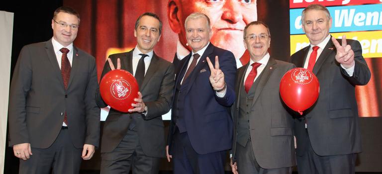 Schnabl/Kern/Dworak: Bei der Landtagswahl die Absolute der ÖVP brechen