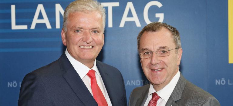"""Schnabl/Dworak zu Bürgermeisterwechsel in Herzogenburg: """"Danke, Franz Zwicker!"""""""