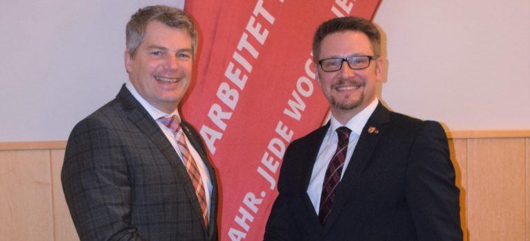 Dr. Clemens Nagel neuer Bürgermeister in Leopoldsdorf, Bezirk GF