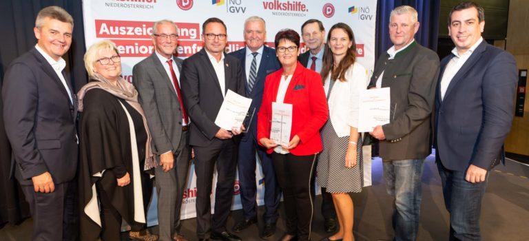 Auszeichnung Seniorenfreundliche Gemeinden & Initiativen NÖ 2019